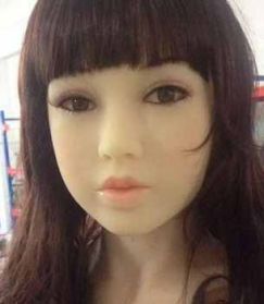 MWM-DOLL Head Nr. 20 - Model Naoko